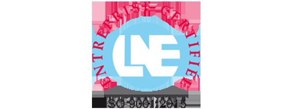 Logo ISO 9001 2015 LNE